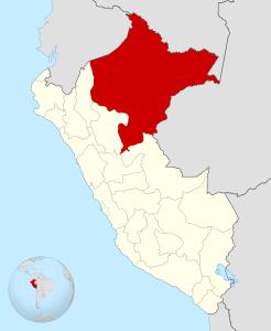 Localisation de la région de Loreto, au Pérou. Crédit photo : Huhsunqu (Creative Commons)