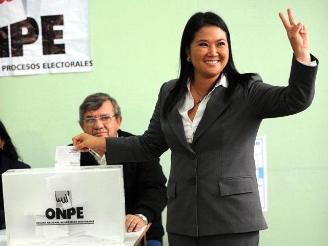 Keiko Fujimori, Lima, 2011 - Crédit photo : Globavision / Flickr CC.