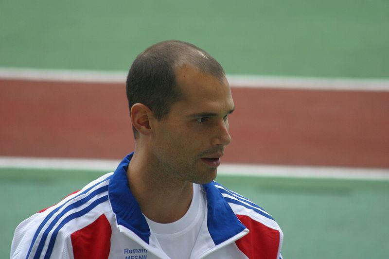 Romain Mesnil en 2009 - Crédit photo : Albin Denooz