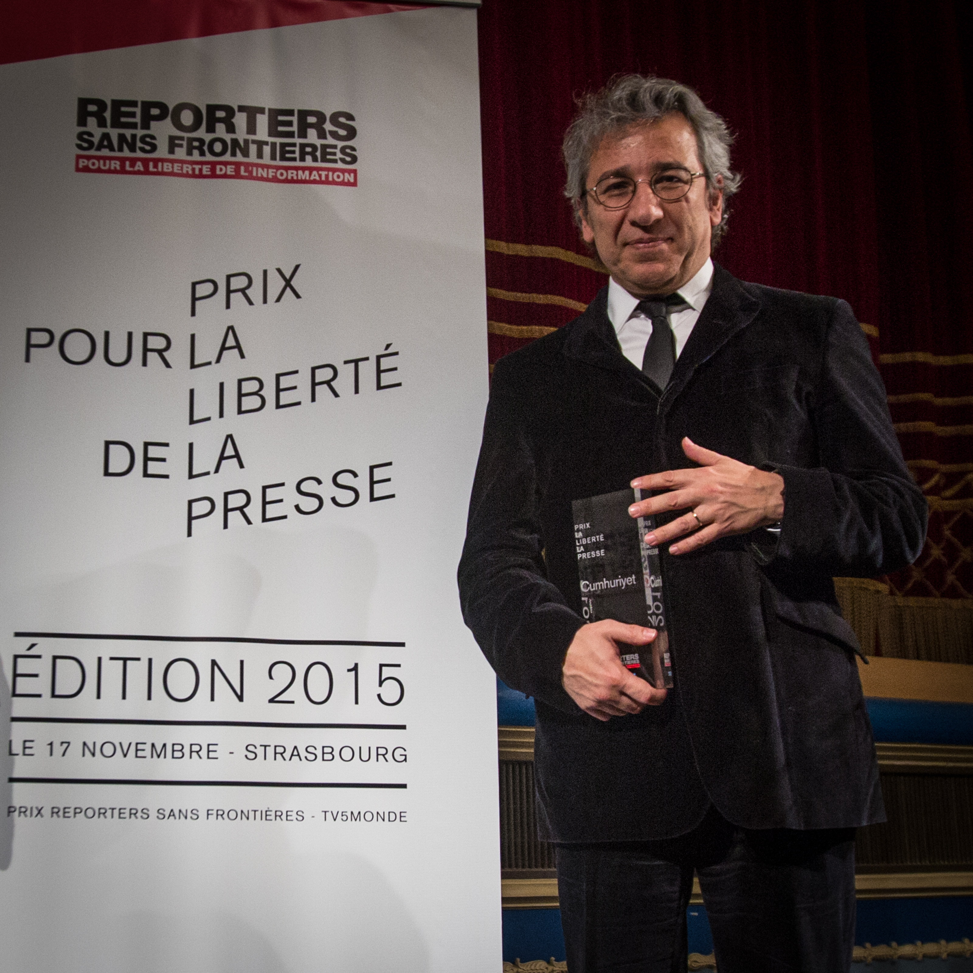 Can Dündar - Crédit photo : Claude Truong-Ngoc, Wikimedia Commons