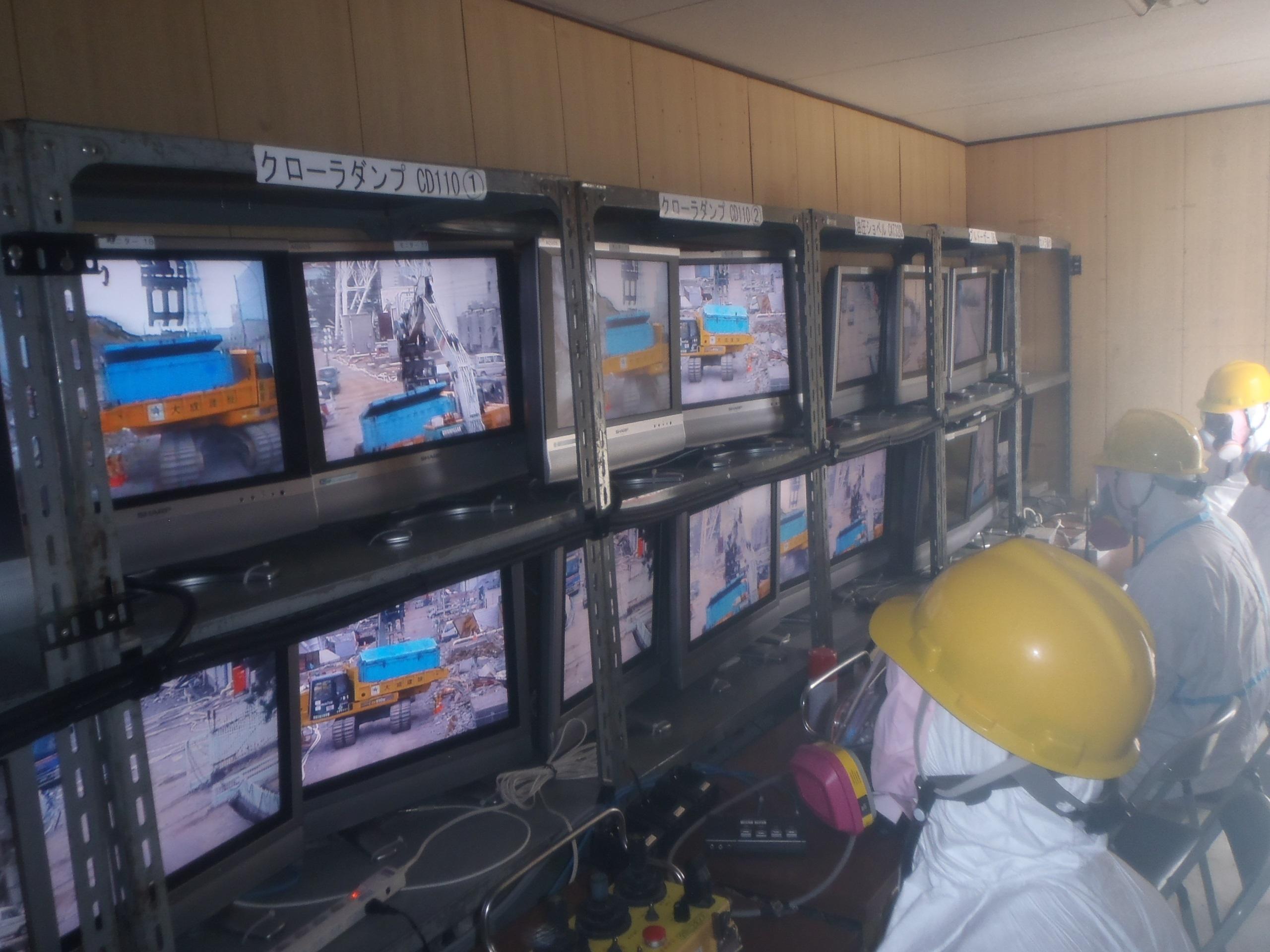 Techniciens de Tepco après l'accident nucléaire de Fukushima Daichi  - Crédit photo : Tokyo Electric Power Company