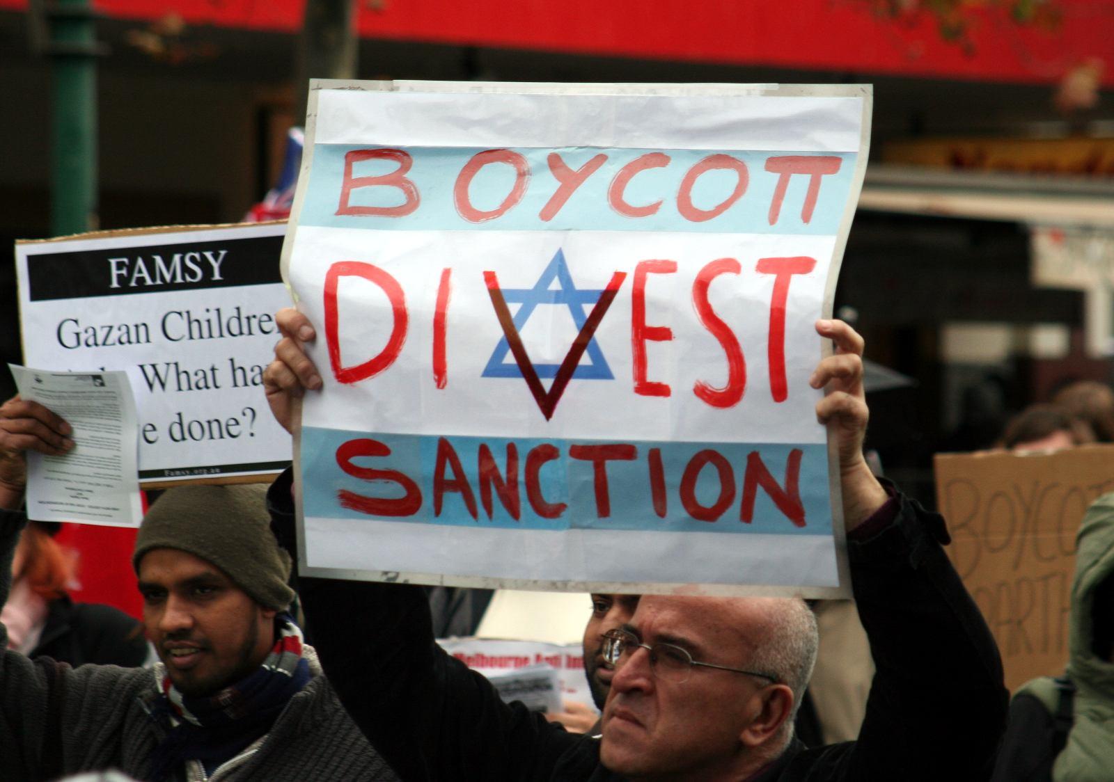 Manifestation à Melbourne contre le blocus de la Bande de Gaza - Crédit photo : Takver / Flickr CC