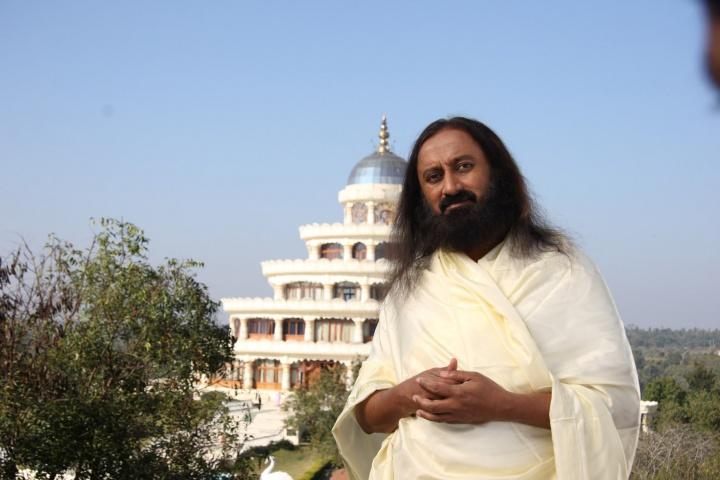 Sri Sri Ravi Shankar - Crédit: Dietershmidt, Wikimedia Commons