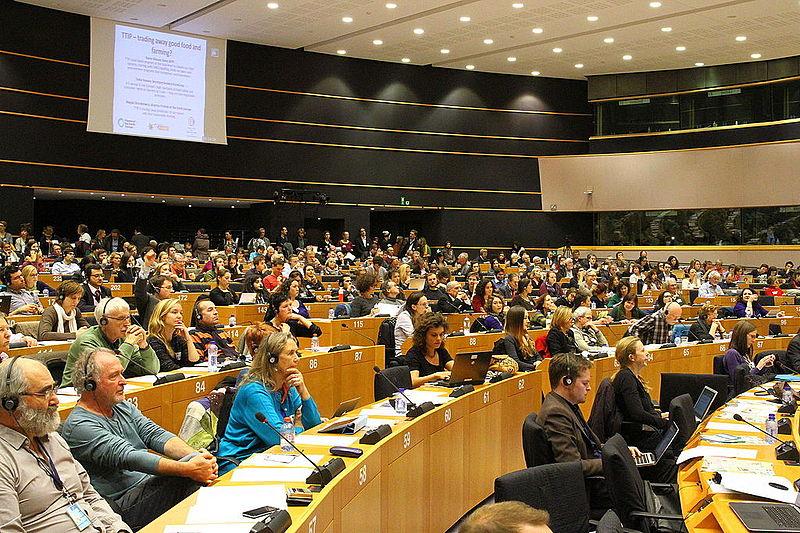 Débats sur le tafta au Parlement européen - Crédit photo : Wikimedia commons