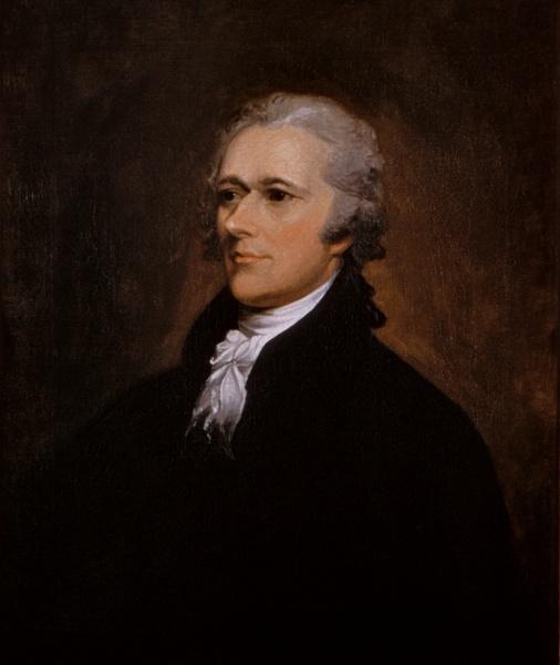 Alexander Hamilton par John Trumbull (1806)