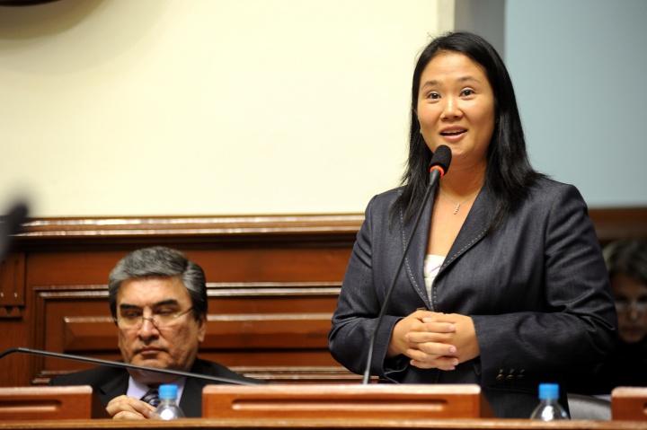 Keiko Fujimori – Crédit photo : Congrès de la République du Pérou/Flickr