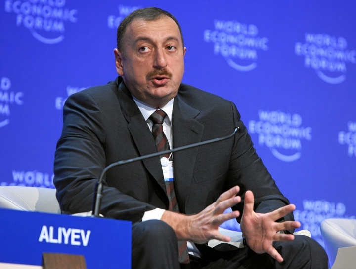 Ilham Aliyev - Crédit photo : World Economic Forum, Wikimedia Commons