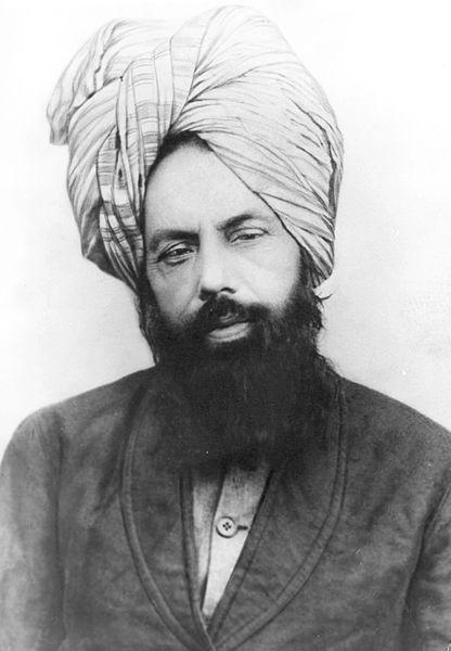 Mirza Ghulam Ahmed, fondateur du mouvement Ahmadiyya - Crédit photo : Makhzan-e-Tasaweer