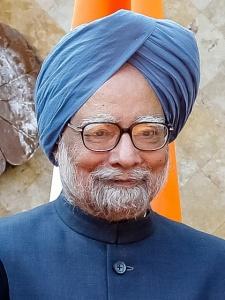 M. Singh, ancien Premier ministre indien, portant un turban emblématique de la communauté - Crédit photo : Blog do Plannalto, Wikimedia Commons