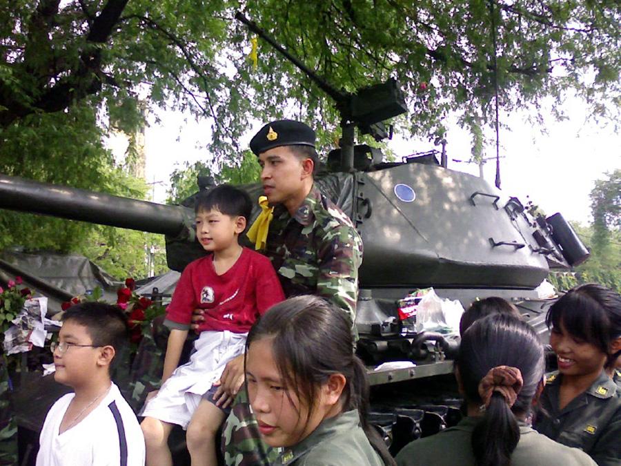 Armée royale thaïlandaise - Crédit photo :  Dinkum