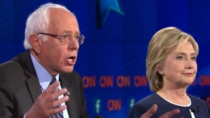 Bernie Sanders et Hillary Clinton - Crédit photo : youtube.com