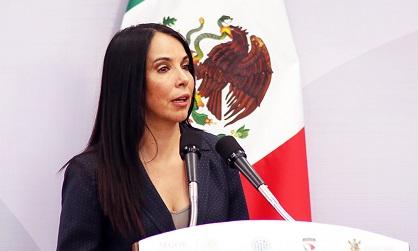 Internationale María de los Angeles Fromow (MAF), secrétaire de l'Organe technique pour la mise en place du nouveau système pénal accusatoire oral (Setec)