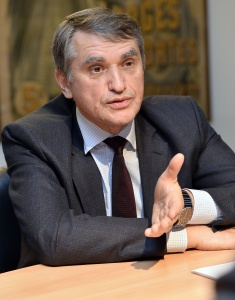 A LYON AU JOURNAL LE PROGRES INTERVIEW DE lÕAmbassadeur d'Ukraine en France Oleg Shamshur