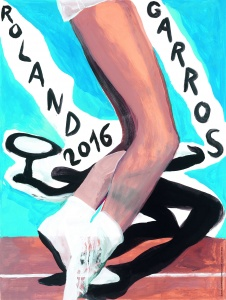 Affiche Roland-Garros 2016
