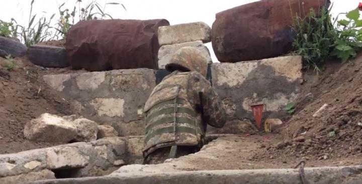 Soldat sur le front du Nagorno - Karabagh - Crédit photo : Harold Hyman