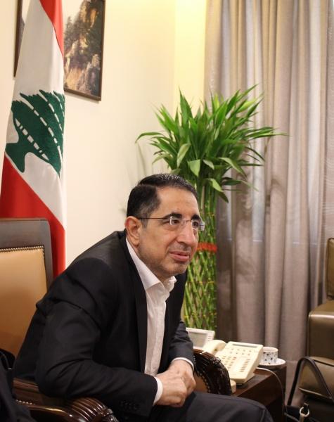 Hussein Hajj Hassan, ministre de l'Industrie