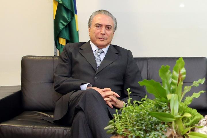 Michel Temer, président par intérim du Brésil – Crédit photo : Romério Cunha/CC. Flickr