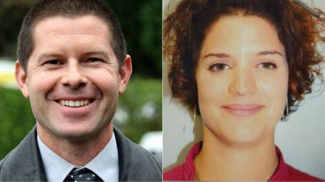Jean-Baptiste Salvaing et Jessica Schneider - Crédit photo : Police nationale