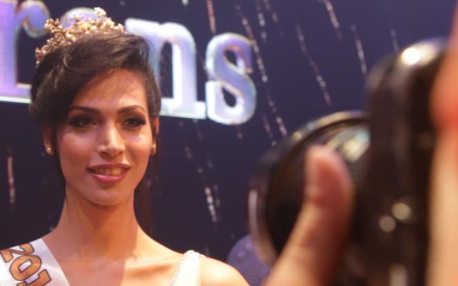 Talleen Abu Hanna, Miss Trans Israël 2016 - Crédit photo : capture Youtube