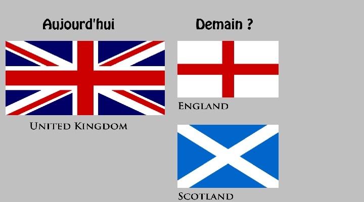 Trois drapeaux UK