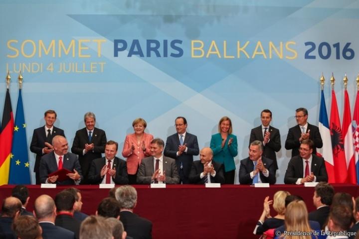Sommet des Balkans, Paris 2016 © Présidence de la République - N. Bauer