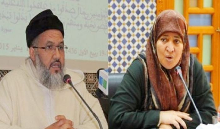 Moulay Omar Ben Hamad et Fatima Nejjar - Crédit photo : Bladi.net