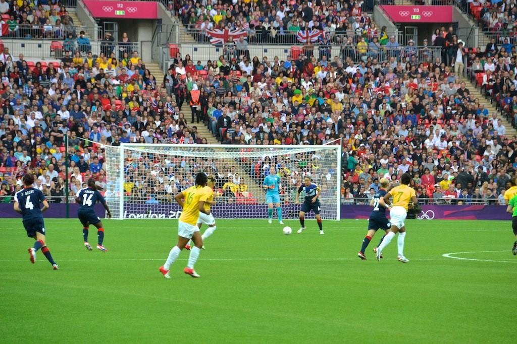A Londres en 2012, le Brésil avait dû se contenter de la médaille d'argent. A domicile cette fois-ci, les Brésiliens rêvent d'or - Crédit photo : Gary Howden.