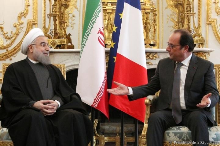 Visite officielle de M. Hassan Rohani, président de la République islamique d'Iran © Présidence de la République - J. Bonet
