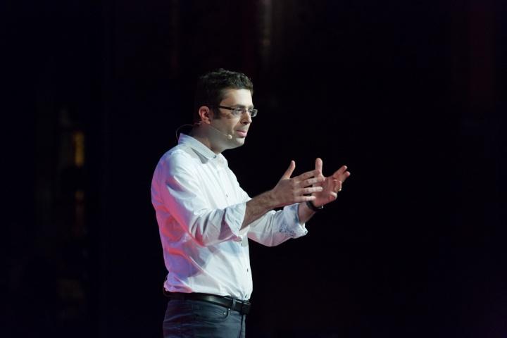 Nicolas Bouzou - Crédit photo : TEDx Paris