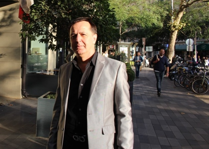 Khaled Abu Taomeh, journaliste arabe israélien - Crédit photo : Harold Hyman