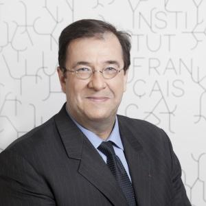Bruno Foucher, président de l'Institut français