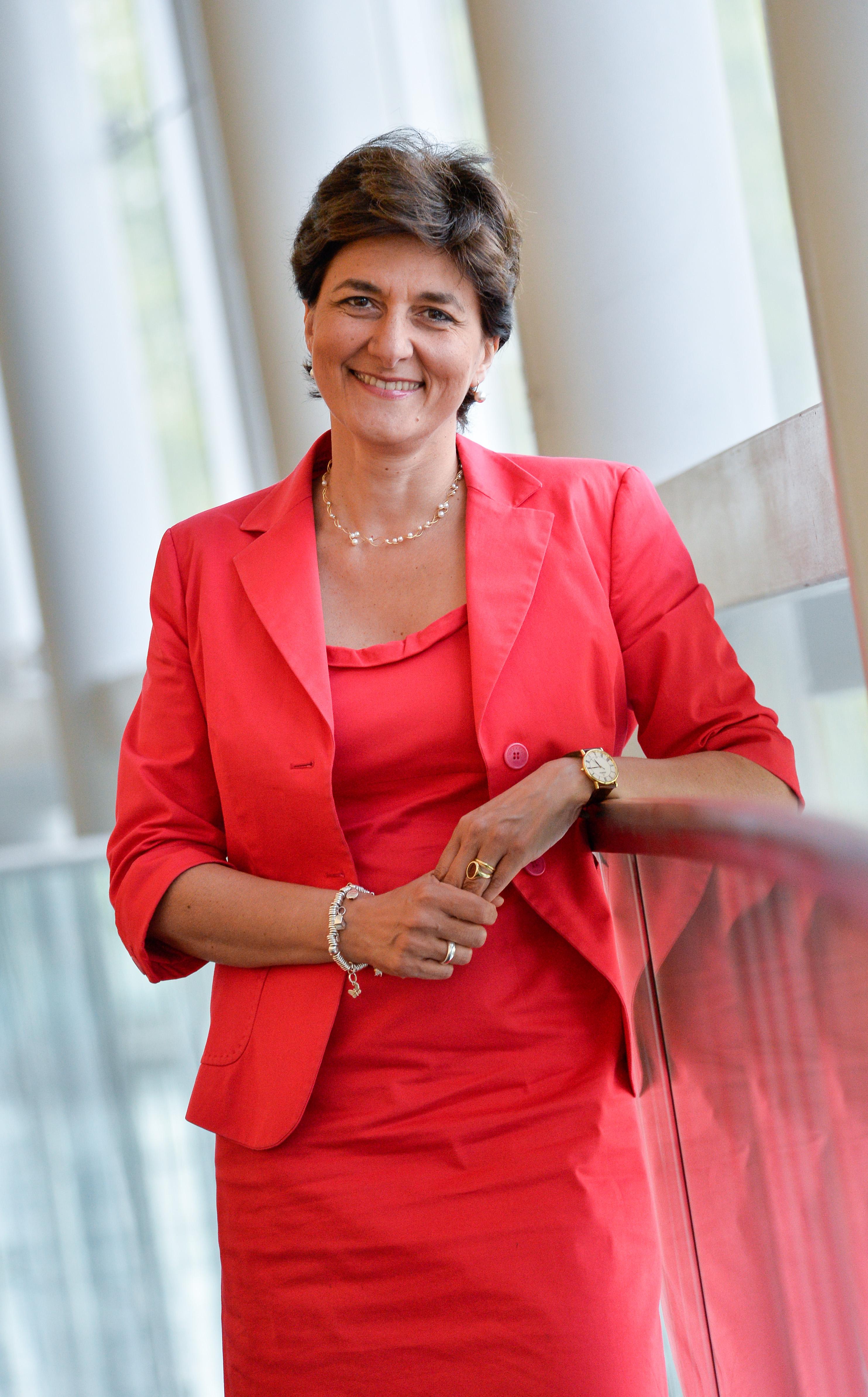 La députée européenne Sylvie Goulard. © Photo Union Européenne