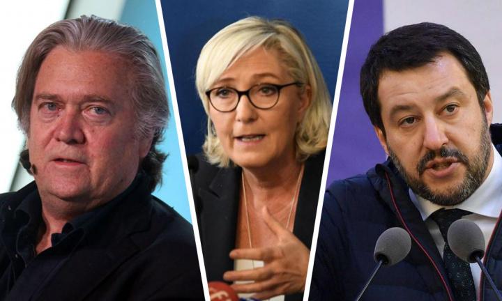 La Résistance, c'est Bannon, Marine, Salvini et tous les patriotes européens