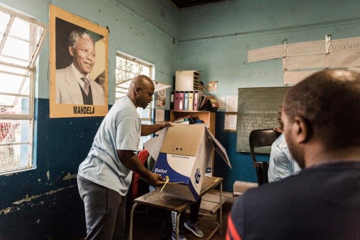 Elections en Afrique du sud