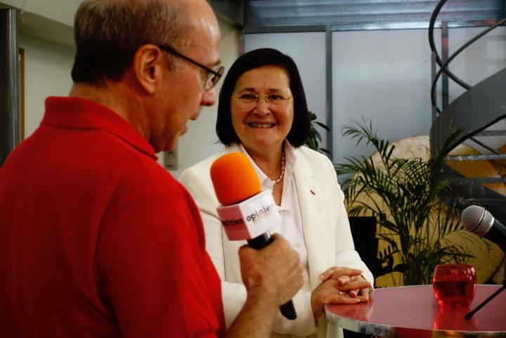 L'hebdo Opinion Internationale 10 juillet 2019 Raymond Taube et Marie-Aymée Peyron
