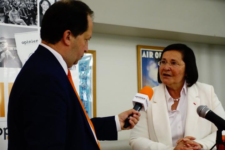 L'hebdo Opinion Internationale 10 juillet 2019 Michel Taube et Marie-Aymée Peyron