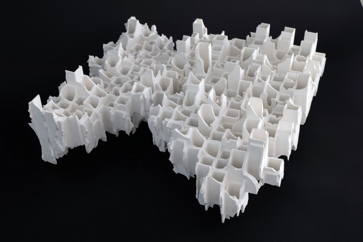 Takeuchi, Modern remains Townscape, 2006, Courtesy ESH Gallery