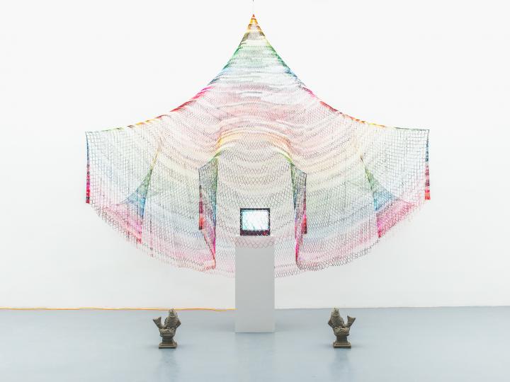 Ye Wang, Untitled, mix media, Image courtesy of YveYANG Gallery