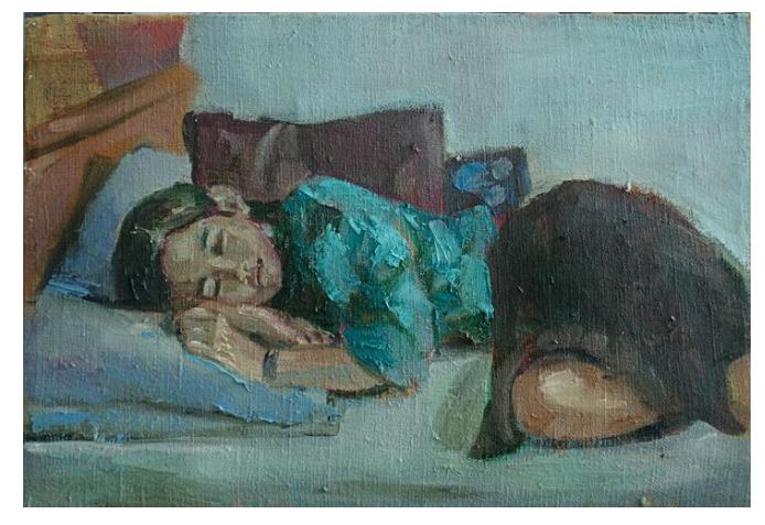 The sleeping girl - by Hai Nguyen