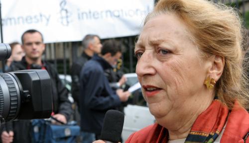 Militante Amnesty International