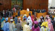 Des députés du Sénégal à l'Assemblée nationale lors de la déclaration de politique générale du premier ministre