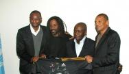 Les 4 membres fondateurs au siège de l'UNESCO à Paris - Crédit photo : DIAMBARS