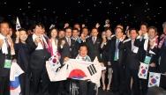 Les représentants de PyeongChang lors de l'élection de la ville hôte en 2011 - Crédit photo : Korean Culture and Information Service