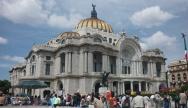 Palais des Beaux Arts, en plein cœur de la capitale, Mexico DF Crédits : Claire Plisson