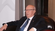 Beji Caïd Essebsi, Président tunisien - Crédit photo : Noé Michalon